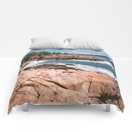 Acadia National Park - Thunder Hole Comforters