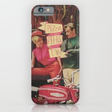 PIZZA BEERS T.V. iPhone 6s Slim Case
