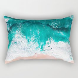 Ocean adventures -drone Rectangular Pillow