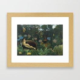 The Dream by Henri Rousseau Framed Art Print