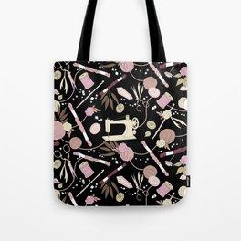 Stitch Witch (Rose) Tote Bag