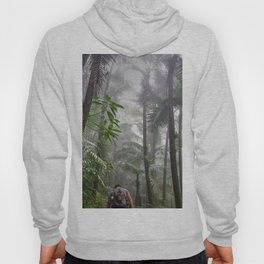 The Cloud forest - before Maria - El Yunque rainforest PR Hoody