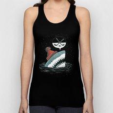 Hockey Shark Unisex Tank Top