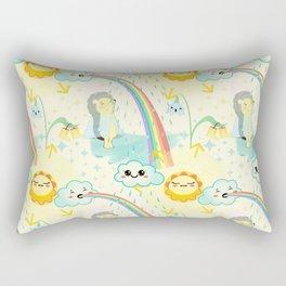 April cuteness Rectangular Pillow