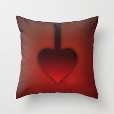 SMOOTH MINIMALISM - Sympathy For The Devil Throw Pillow