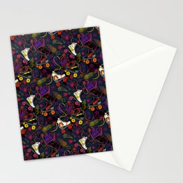 Meet Me At the Roller Rink Stationery Cards