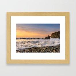 Copper Coast Sunrise 1 Framed Art Print