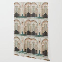 Mosque Hassan II in Casablanca, Morocco Wallpaper