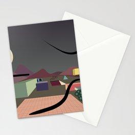 EL VACIO DEL DESIERTO Stationery Cards