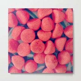 Photo Fraises Bonbons Metal Print