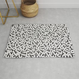 By the numbers Rug