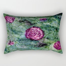 Water Color Rectangular Pillow