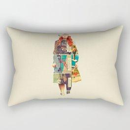 Until She Smiles Rectangular Pillow