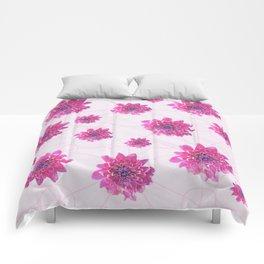 Pink pattern Comforters
