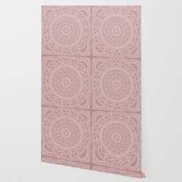 Mandala - Powder pink Wallpaper