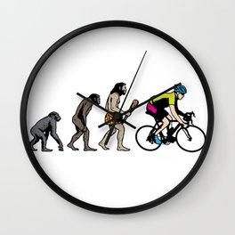 Bike Racer Wall Clock