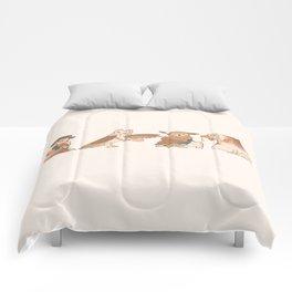 Doctor Hoo Comforters