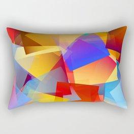 Cubism Abstract 172 Rectangular Pillow