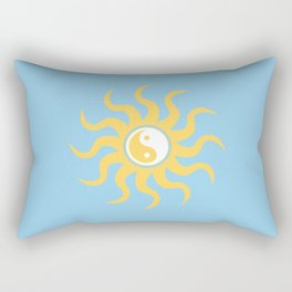 Yin yang sunshine Rectangular Pillow