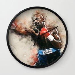 Marvelous Marvin Hagler Wall Clock