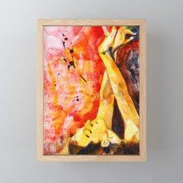 Dancer I Framed Mini Art Print