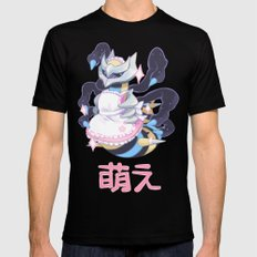 moe giratina Black SMALL Mens Fitted Tee