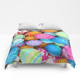 Easter Eggs Comforters