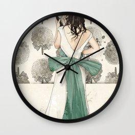 A Shotgun Kind of Wedding Wall Clock