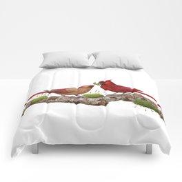 Northern  Cardinals Comforters