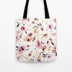 Wild Pansies Tote Bag