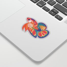 Koi betta Sticker