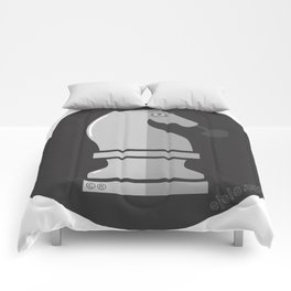 kn.eye.ght b&n Comforters
