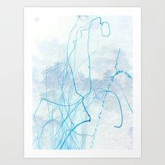 Fire Line Art Print