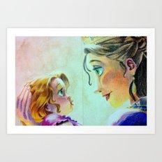 Strongest Love Art Print