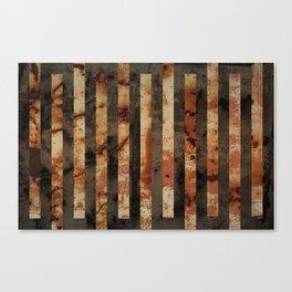 Rusty barrel abstraction Canvas Print