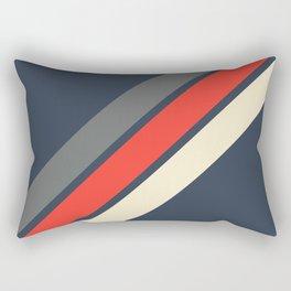 3 Retro Stripes #4 Rectangular Pillow