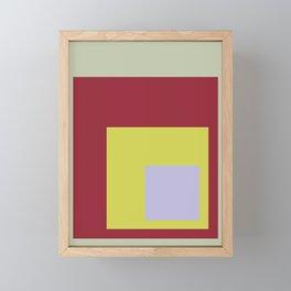 Color Ensemble No. 8 Framed Mini Art Print