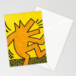 Keith Haring Dancing Dog Stationery Cards