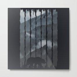 Mist Metal Print