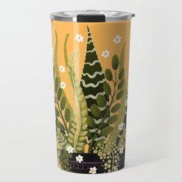 Black Vase I Travel Mug