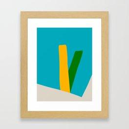 Mid Century Modern 9 Framed Art Print