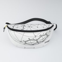 Buckminster Fuller 1961 Geodesic Structures Patent Fanny Pack