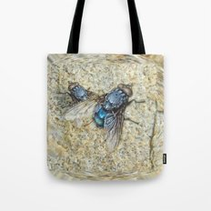 Fly on my Tie Tote Bag