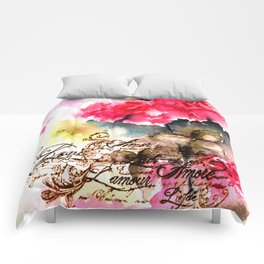 Roses Card Comforters