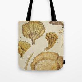 Naturalist Mushrooms Tote Bag