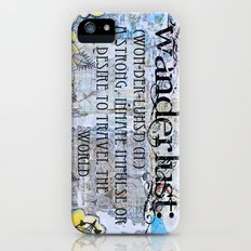 Wanderlust iPhone (5, 5s) Slim Case
