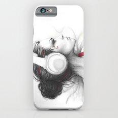 MUSIC Girl in Headphones Slim Case iPhone 6