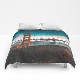 WANDERLUST San Francisco Comforters