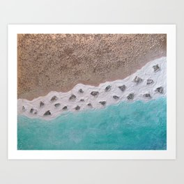 """Abalone Beach"" Art Print"