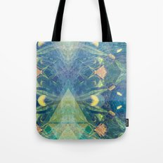 Deep Space Aphelionic Vegetation Surface Discovery Tote Bag